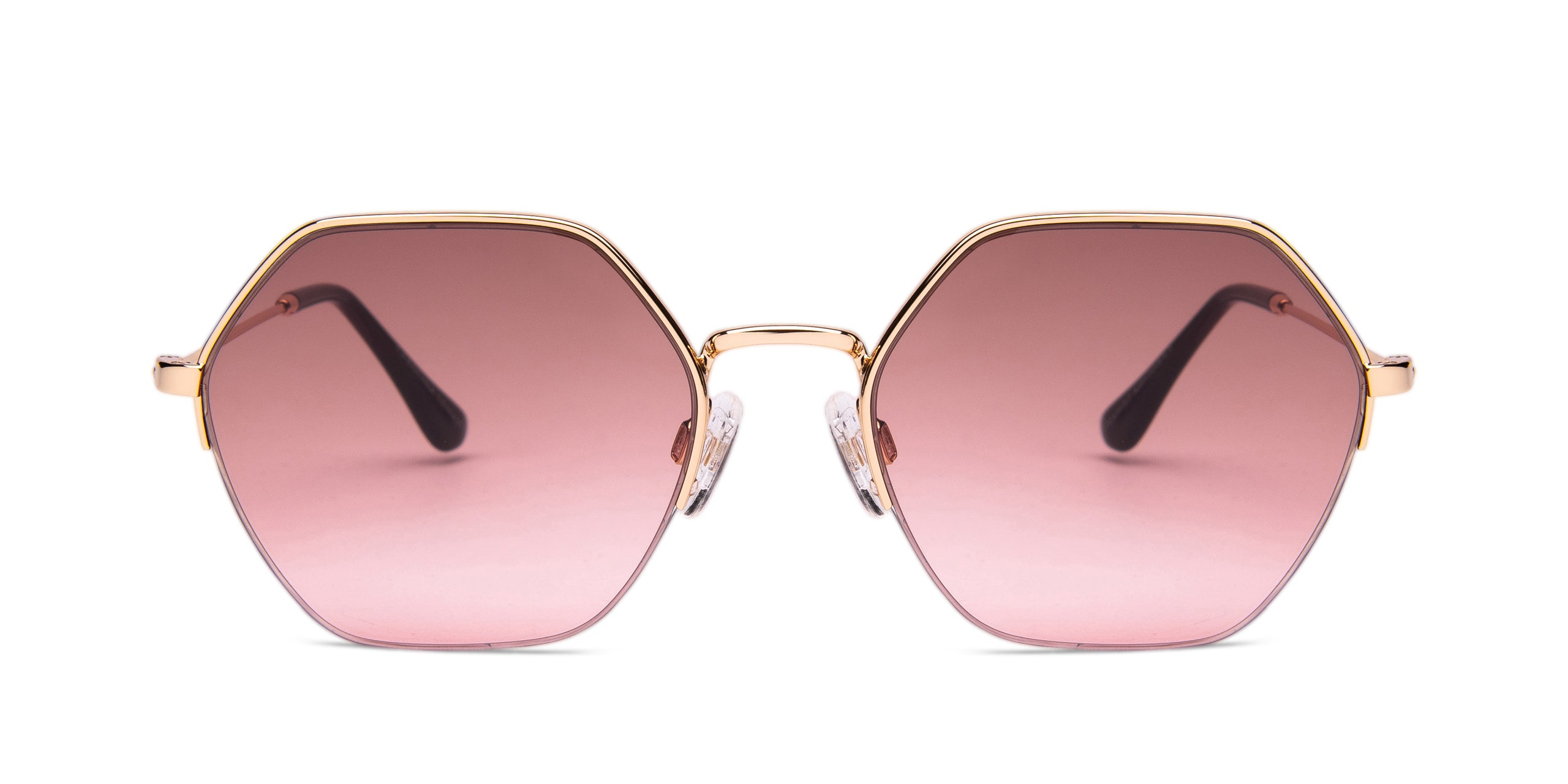 FRAME Gold LENS Gradient Brown to Pink