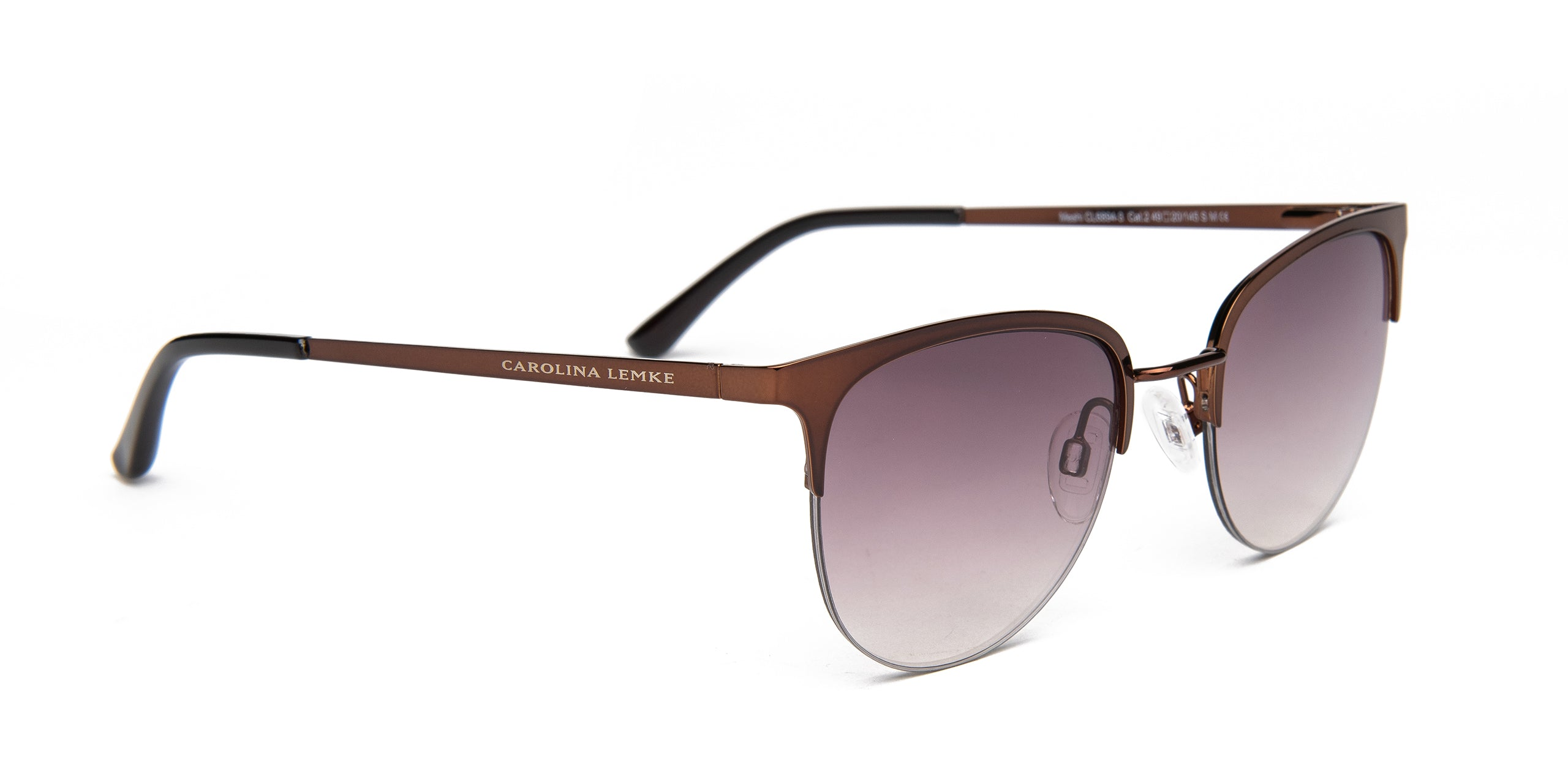 FRAME Coffee LENS Gradient Brown to Black to Purple