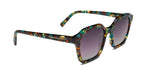 FRAME Brown Green Tortoise Shell LENS Gradient Smoke