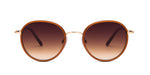 FRAME Brown Gold LENS Gradient Brown