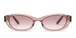 FRAME Transparent Champagne LENS Gradient Brown to Nude