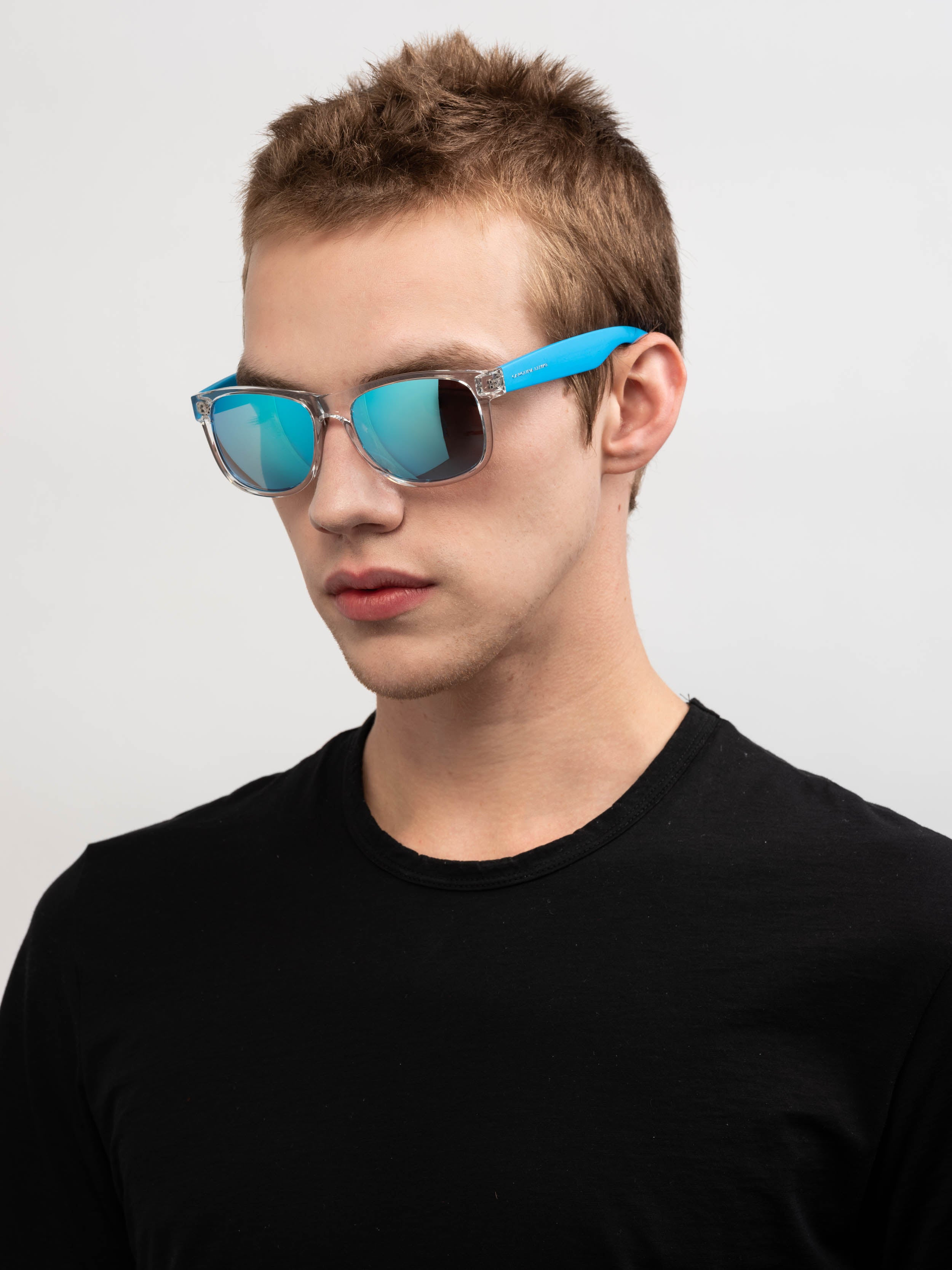 LS-FRAME Transparent LENS Ice Blue