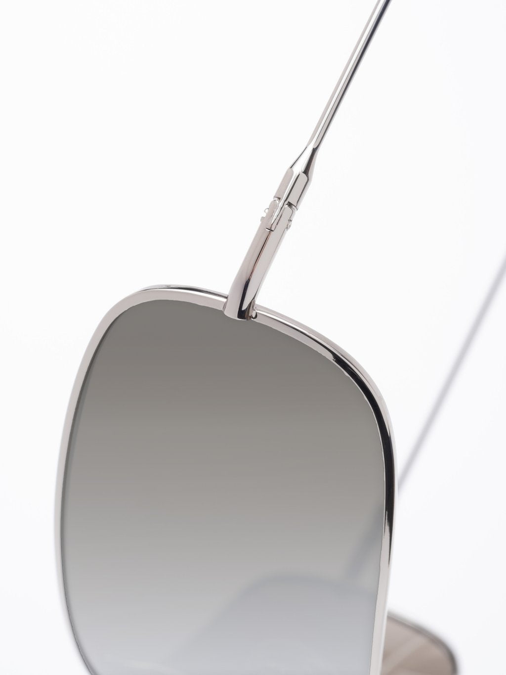 LS-FRAME Silver LENS Silver Mirror