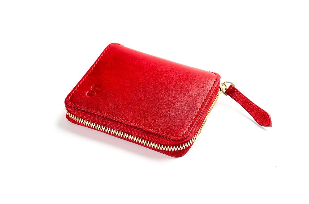 Zip Wallet / Red