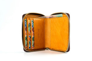 Zip Wallet / Brown