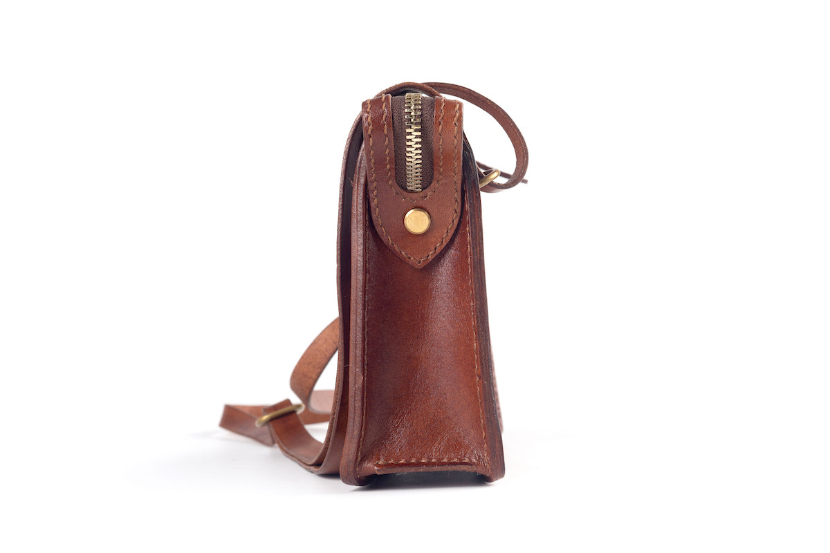 Crossbody / Brown