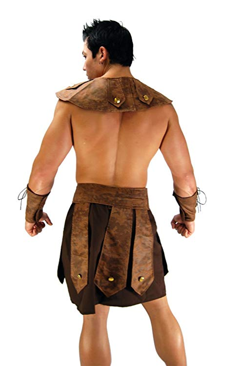 Spartan Warrior Sexy Roman Costume for Men