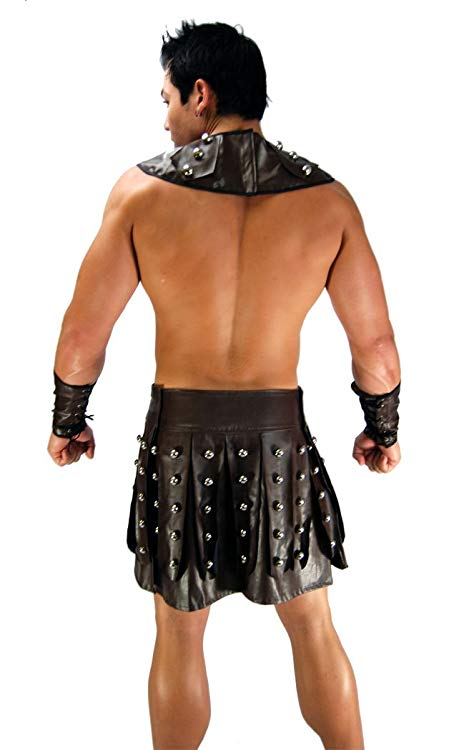 Sexy Greek Warrior Costume for Men