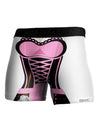 French Maid Pink AOP Boxer Brief Single Side All Over Print