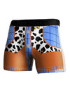 Cowboy Blue AOP Boxer Brief Single Side All Over Print