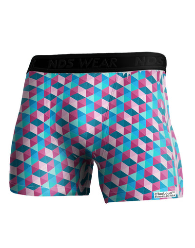Crystalized Mosaic AOP Boxer Brief Dual Sided All Over Print