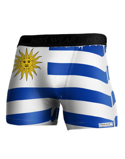 Uruguay Flag AOP Boxer Brief Dual Sided 2XL All Over Print Tooloud