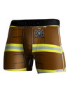 Firefighter Brown AOP Boxer Brief Dual Sided All Over Print