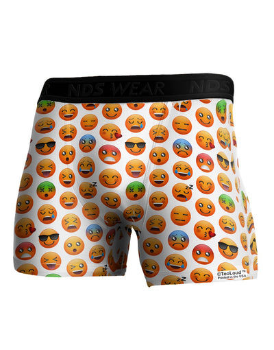 Lots Of Emojis AOP Boxer Brief Dual Sided All Over Print