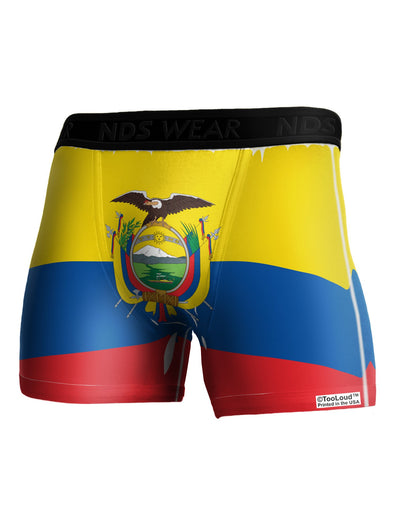 Ecuador Flag AOP Boxer Brief Dual Sided All Over Print
