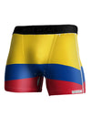 Colombia Flag AOP Boxer Brief Dual Sided All Over Print