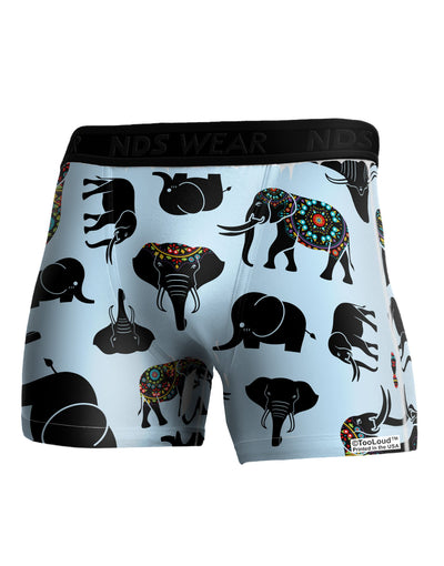 Mixed Elephants AOP Boxer Brief Dual Sided All Over Print