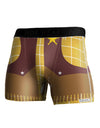 Cowboy Yellow AOP Boxer Brief Dual Sided All Over Print