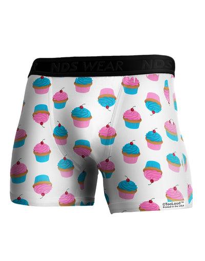 Cute Cupcakes AOP Boxer Brief Dual Sided All Over Print