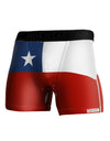 Chile Flag AOP Boxer Brief Dual Sided All Over Print