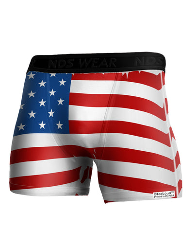 TooLoud USA Flag AOP Boxer Brief Dual Sided All Over Print