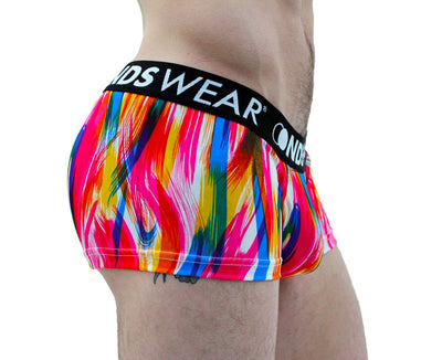 Brush Stroke Men's Short Trunk Underwear