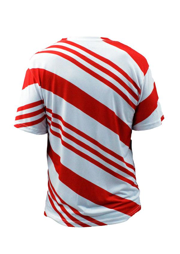 Candy Cane Holiday T-Shirt Unisex
