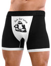 Mens Sexy Rub For Luck Buddha Boxer Brief Funny Underwear