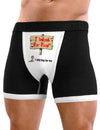 Will Work For Food & Beg For Sex - Mens Sexy Boxer Brief Underwear
