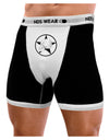 White Skull With Star Mens Boxer Brief Underwear by TooLoud