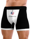 I Heart America Scribble Mens Boxer Brief Underwear