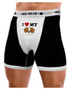 I Heart My - Cute Bulldog - Red Mens Boxer Brief Underwear by TooLoud
