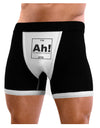 Ah the Element of Surprise Funny Science Mens Boxer Brief Underwear by TooLoud