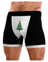 Mustache Christmas Tree Mens Boxer Brief Underwear