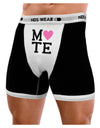 Matching Soulmate Design - Mate - Pink Mens Boxer Brief Underwear by TooLoud