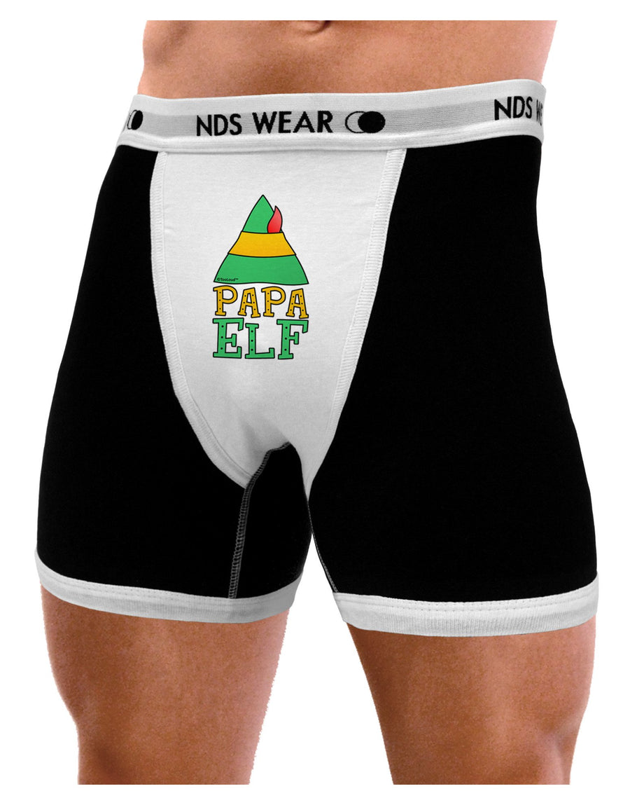 Matching Christmas Design - Elf Family - Papa Elf Mens Boxer Brief Underwear