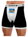 Colorado Snowy Mountains Text Mens Boxer Brief Underwear