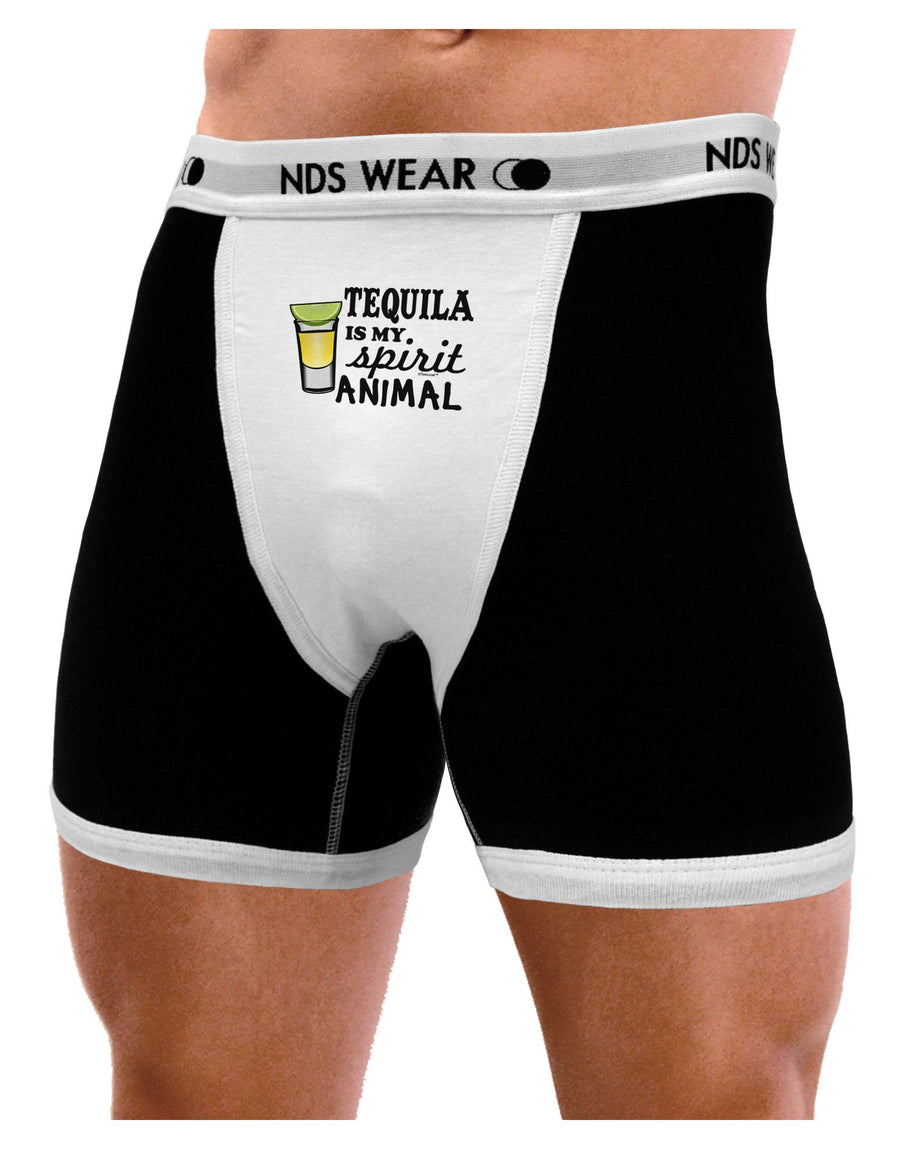 Tequila Is My Spirit Animal Mens Boxer Brief Underwear