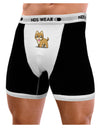 Kawaii Standing Puppy Mens Boxer Brief Underwear