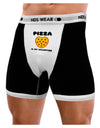 Pizza Is My Valentine Mens Boxer Brief Underwear by TooLoud