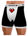 Pixel Heart Design 1 - Valentine's Day Mens Boxer Brief Underwear
