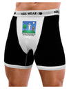 UFO Stopping At an Out-house Text Mens Boxer Brief Underwear by TooLoud