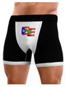 Puerto Rico Coqui Mens Boxer Brief Underwear