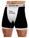 Happy Easter with Cross Mens Boxer Brief Underwear by TooLoud