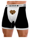 Cute Chocolate Labrador Retriever Dog Mens Boxer Brief Underwear by TooLoud