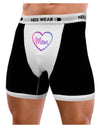 Mom Heart Design - Gradient Colors Mens Boxer Brief Underwear by TooLoud