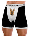 Cute German Shepherd Dog Mens Boxer Brief Underwear by TooLoud