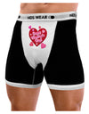 Happy Valentine's Day Romantic Hearts Mens Boxer Brief Underwear