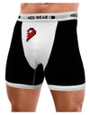 Couples Pixel Heart Design - Right Mens Boxer Brief Underwear by TooLoud