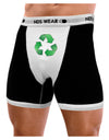 Recycle Green Mens Boxer Brief Underwear by TooLoud